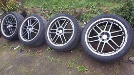 "TSW 19"" wheels 5x100"
