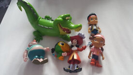Jake and the Neverland pirate figures