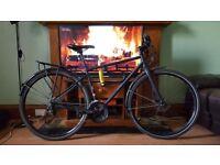 2 years new Marin Muirwoods 29er hybrid bicycle (mudguard set, pannier rack, kryptonite U-lock)