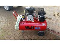 Wolf Dakota 90 litre 3HP 14CFM 10 Bar Air Compressor