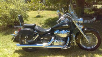 2005 black honda Shadow 750 Moree Moree Plains Preview