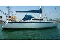 VERL 33 SAILING CRUISER EXCELLENT COND. ONO £18950