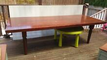 Dining Table Cherry Red Croydon Burwood Area Preview