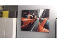 Huge New York taxi canvas