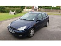 2004 Ford Focus 1.6 12 months mot new clutch and service last week