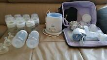 avent manual/automatic breast pump, avent bottle warmer ... North Turramurra Ku-ring-gai Area Preview