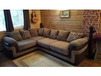 DFS Coburn Corner Sofa With Foam