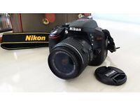 Nikon D5300 SLR, 18-55mm Lens, Plus accessories