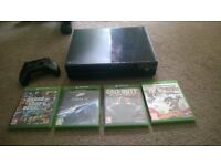 xbox one with 10 games