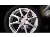"15"" TSW 4x108 great tyres"