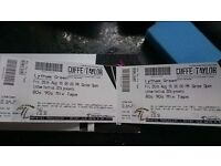 2 tickets to lytham festival,bay city rollers etc