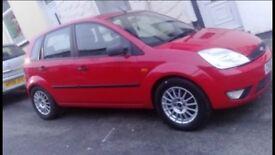 (SWAP) 52 plate Fiesta Zetec 1.4