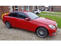 Nice Red C220 ready to go, £30 per year tax