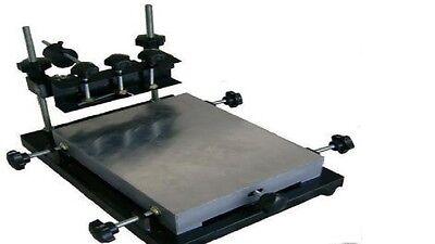 Manual Solder Paste Printerpcb Smt Stencil Printer M Size 440x320mm