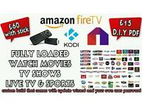 AMAZON FIRE STICK - KODI - MOBDRO - FULLY LOADED