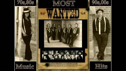 MOST WANTED Proffesional Sydney Covers Band Kemps Creek Penrith Area Preview
