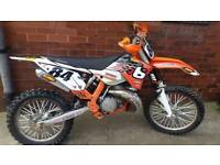 Ktm 250 sx 2 stroke road legal day time mot