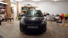 LATE 2007 FORD FIESTA 1.25 STYLE