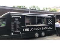 Street Food business with Central London pitch