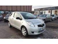**IDEAL FIRST CAR** TOYOTA YARIS T2 1.0 (2008) - 3 DOOR - NEW MOT - 2 KEYS - HPI CLEAR!