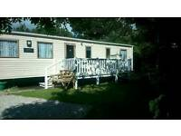 Privately owned 8 berth static caravan for hire Looe bay in Cornwall