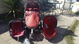 Quinny Buzz 3-in-1 pushchair in Patchway