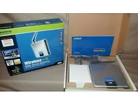 Linksys Cisco WAG200G - Wireless Router Gateway Hub - 4 Port Ethernet & WiFi
