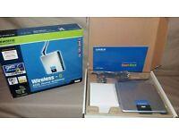 Linksys Cisco WAG200G - Wireless Router Gateway Hub - 4 Port Ethernet & WiFi