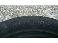 Goodyear tyre car van 215 in perfect condition