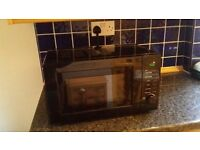Black microwave