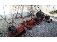 petrol lawn mowers job lot / lawnmowers / strimmers / grass cutters / gardening / mountfield / brigg