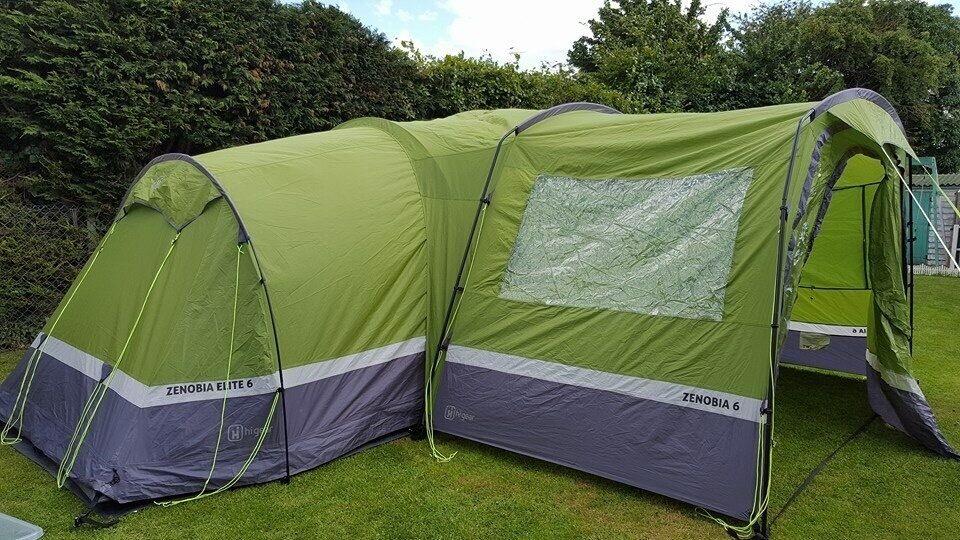 Job Lot Hi Gear Zenobia 6 Tent Porch Foot Print Carpet