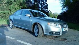 Audi A4 S Line Sports model. Long MOT, HEated Leather, FSH, Well Maintained