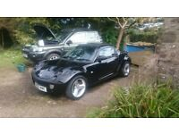 2003 Jack Black Smart Roadster 11 Month MOT Auto FSH and 4 New Tyres