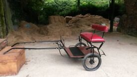 mini shetland cart
