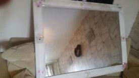 large shabby chic mirror