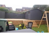 Fence painter-Shed-Decking Staining,industral /moss removal-Good Rates-Free Online Quote