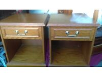 pair of bedside cabinets - free delivery