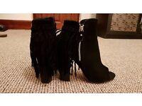stylish high heel shoes