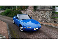 MX5 MK1 EUNOS ROADSTER 1990 1.6, M.O.T til Aug 2008 & EYE WATERING LIST OF EXTRAS