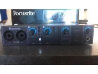 Focusrite Saffire PRO 14 Firewire Audio Interface/Soundcard