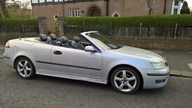 05 SAAB VECTOR 2.0 TURBO CONVERTIBLE. MARCH 18 MOT