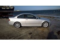 bmw 325 m sport auto new discs and pads x2 tyres and mot