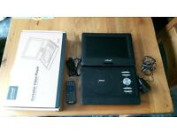"13"" Portable Dvd Player With Built in Games Console + Accessories"