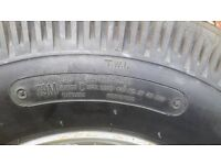Trailer tyre. 5.00-10 6 ply rating brand new