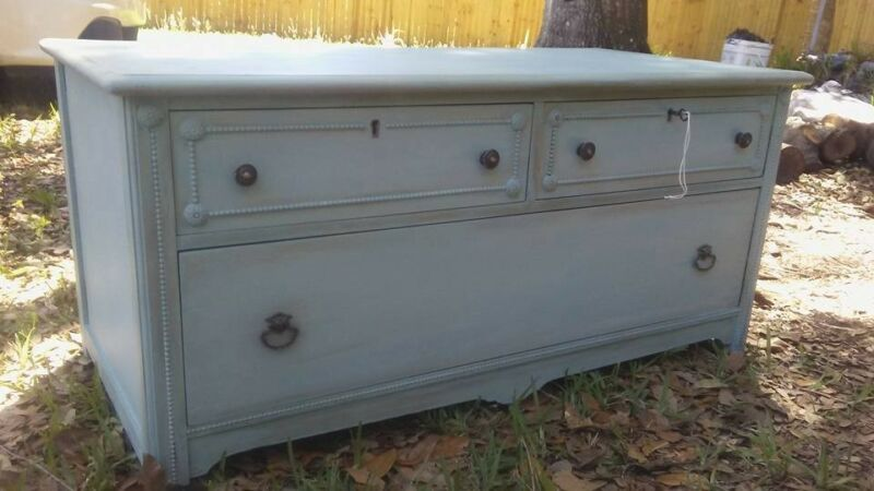 REPURPOSED VINTAGE DRESSER