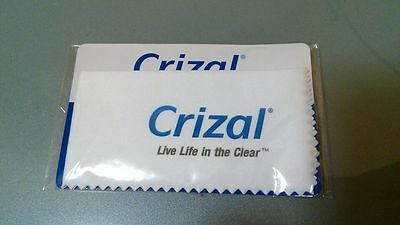 Crizal cleaning cloth for eyeglass cellphone camera live life in the clear