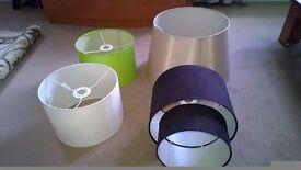 4 x Lamp shades