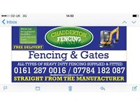chadderton fencing & gates SPECIAL OFFER ON PANELS GET IN TOUCH