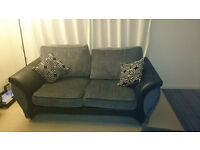 DFS sofa bed and footstool with storage